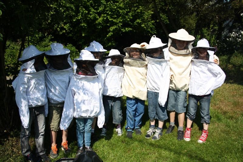 Eveil a l'apiculture - le rucher de la rivère aux roseaux